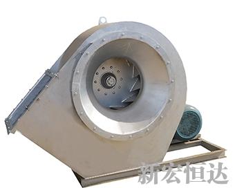 Stainless steel fan