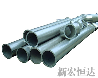 Stainless steel waste steam pipes