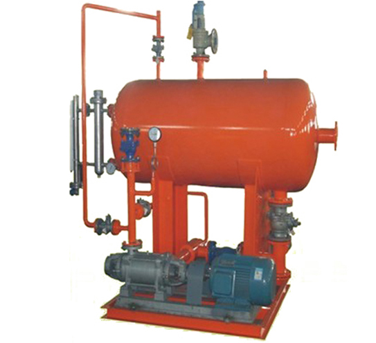 Condensed water recovery system